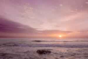amanecer en Punta Prima